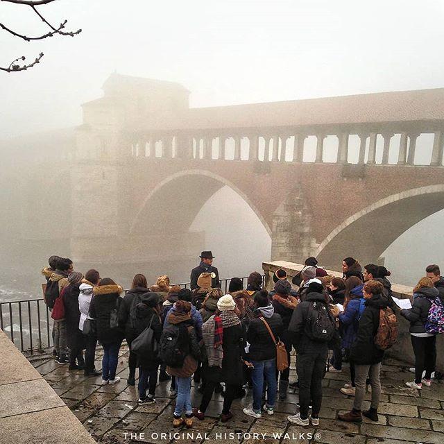Pavia Ponte Coperto in nebbiolina | original history walks tour